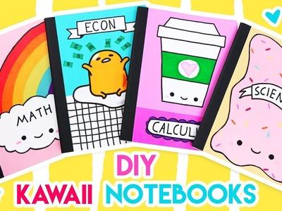 DIY Kawaii Notebooks for Back-to-School! ????