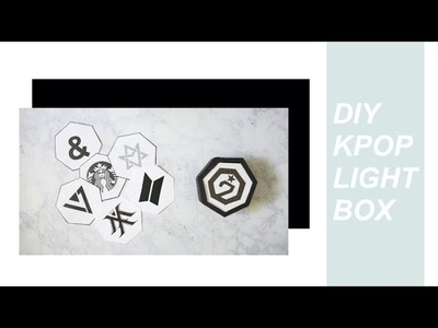 DIY Kpop. Lightbox (Got7, Monsta X, BTS & más)