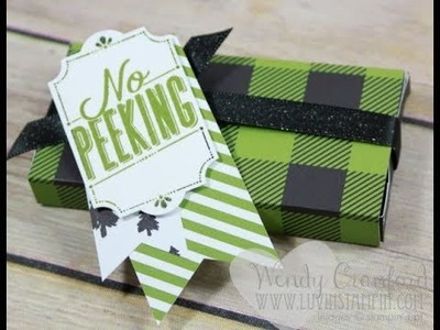 DIY Matchbox Gift Package feat. Merry Little Labels Stampin' UP!