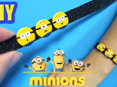 DIY Minions Bracelet! Despicable me diy idea
