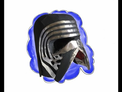 DIY: Star Wars Kylo Ren helmet part 3: Free Templates