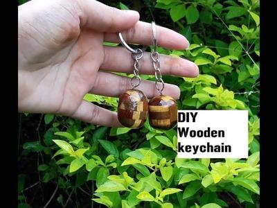 DIY Wooden keychain