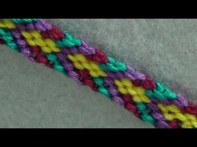 ► Friendship Bracelet Tutorial - Fancy Chevron