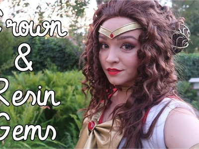 How to Cast Resin Gems   Sailor Scout Crown Tutorial