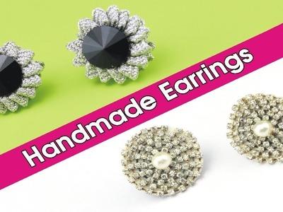 How To Make Handmade Earrings at Home | Homemade Earring Tutorial