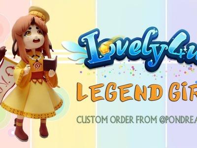 Lovely4u | VO33 | NEW SKILLS UNLOCKED | Legend Girl | Clay Tutorial