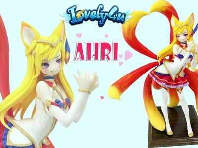 Lovely4u | VO43 | Star Guardian Ahri | League of Legends | Creative Clay Figure Tutorial