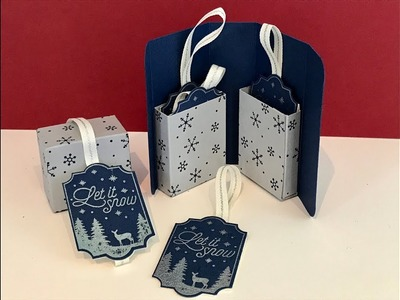 Merry Little Labels Gift Box - Video Tutorial and My Stampin' Up Anniversary Mega Gift Away!