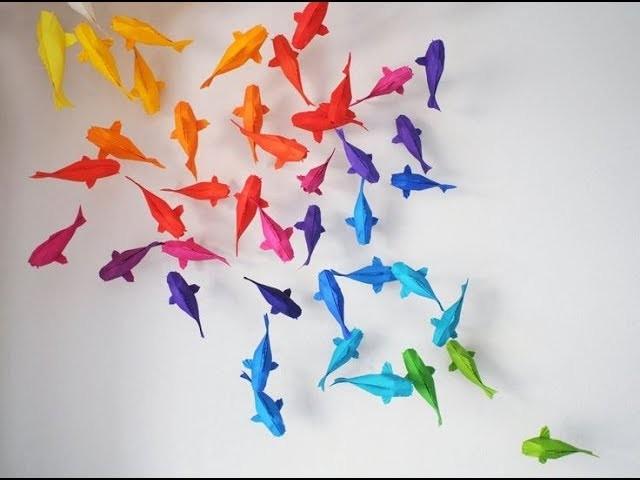 Origami koi fish tutorial sipho mabona for Origami koi tutorial