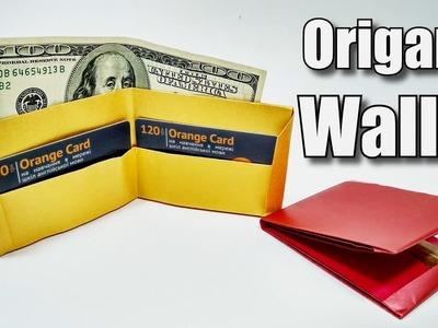 Origami WALLET easy - Yakomoga Origami easy tutorial