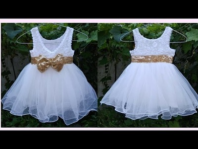 Princess Frock Cutting and Stitching tutorial in hindi