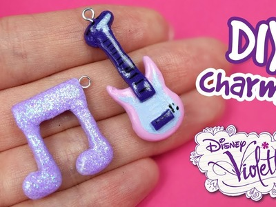 Violetta Polymer Clay Tutorial! How to make Violetta charms | DIY