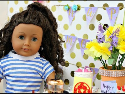 American Girl Doll Mother's Day Tea Party DIY \ Hey its Whitney
