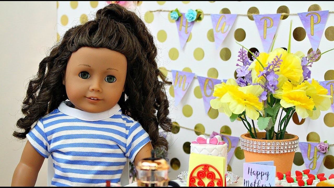 american girl doll mothers day tea party diy hey its whitney