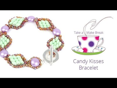 Candy Kisses Bracelet | Take a Make Break with Beads Direct