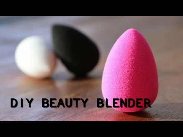 how to clean a beauty blender diy