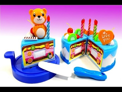 DIY Birthday Cake Toys Decorating For Children & Family
