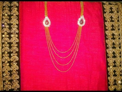 DIY: Bridal.Imitation Necklace(Jewellery)