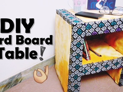 DIY Card Board Table || Cardboard Table