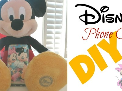 DIY Disney - Disney Phone Case  || I Like DIY Projects