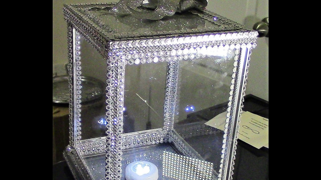 Diy dollar tree 100 glass card money keepsake box for Glass boxes for crafts