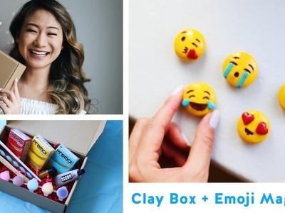DIY Emoji Magnets + The Clay Box LAUNCH!