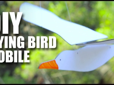 DIY Flying Bird Mobile | Room Décor Ideas | Mad Stuff With Rob