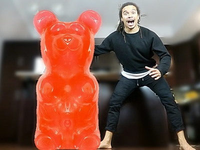 DIY GIANT GUMMY BEAR (500+ POUNDS WORLD RECORD)