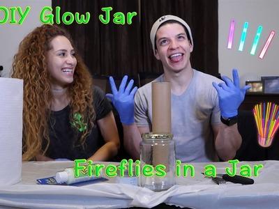 DIY Glow Jar   Fireflies in a Jar!!! (w. Helene)
