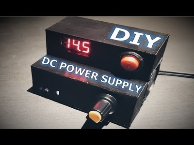 DIY | How to make a DC power supply from a power adapter