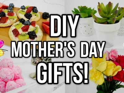 DIY Mother's Day Gift Ideas! Easy + Last Minute!