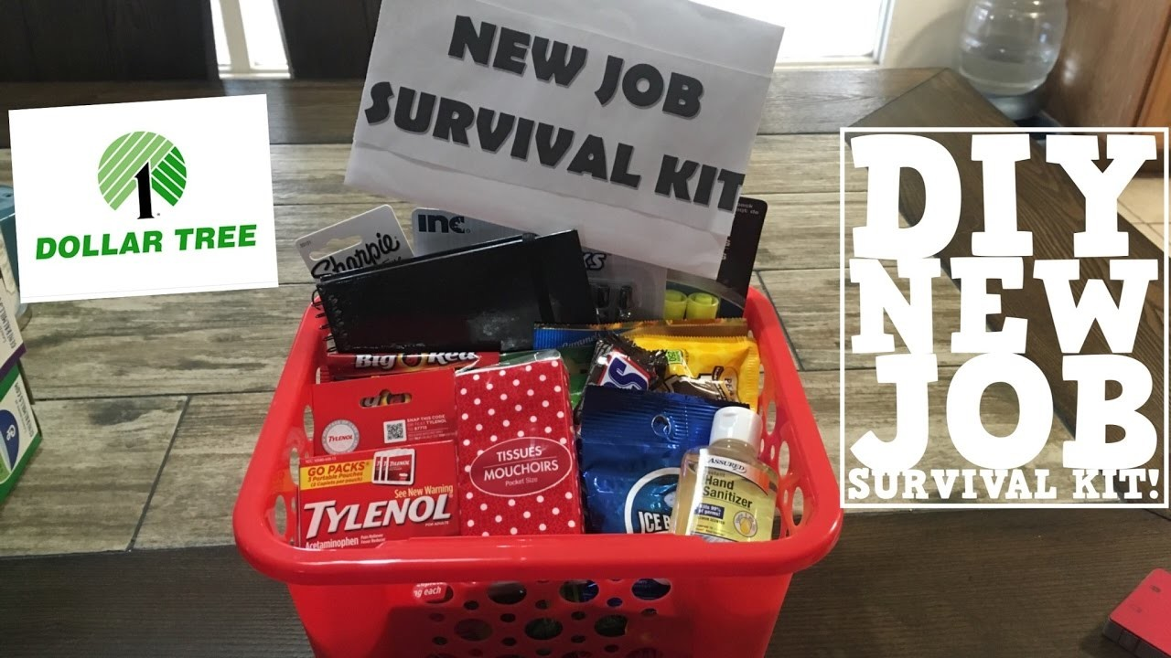 DIY NEW JOB OR PROMOTION GIFT | UNDER $20 | EVERYTHING FROM DOLLAR TREE!