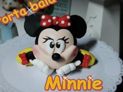 DIY - Porta bala da Minnie Parte 1.2 - Passo a Passo - #BiscuitdaZurc