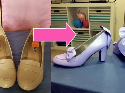 DIY Thrift Store Shoes to Lolita Shoes