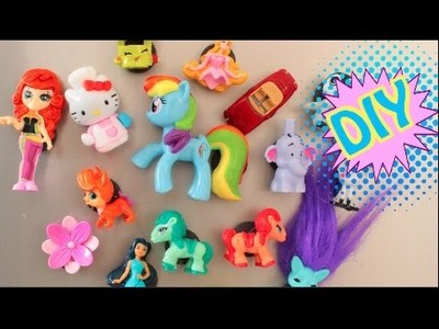 DIY TOYS SURPRISE MAGNETIC TOYS ZELFS DISNEY PRINCESS KINDER SURPRISE SHOPKINS MLP WINNIE THE POOH