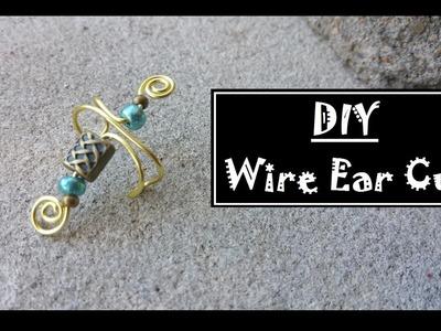 DIY Wire Ear Cuff