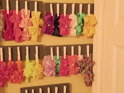 DIY Wooden Headband Holder! | EASY DIY