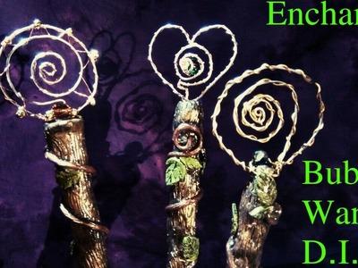 Enchanted Bubble Wands- D.I.Y.