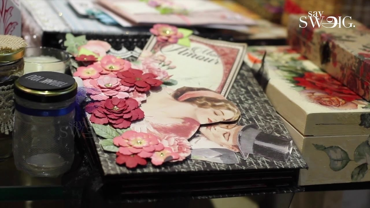 Gift the handmade & Personalized wedding theme albums for the couples ...