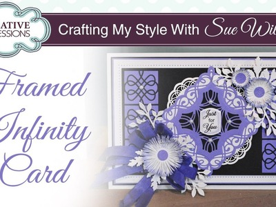 Handmade Floral Card | Crafting My Style with Sue Wilson