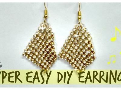 How to make earrings || DIY earrings || || DIY Jewelery ||