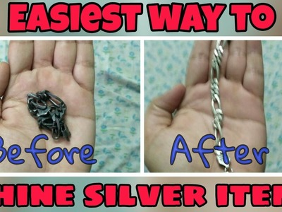 How to shine your Silver utensils || DIY || Home Remedies ||