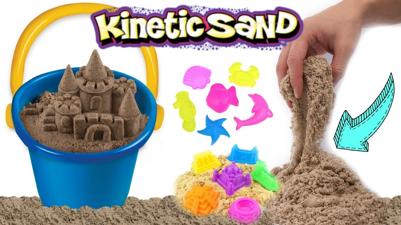 kinetic beach sand how to make kinetic sand sculptures diy kinetic sand castle kids toy. Black Bedroom Furniture Sets. Home Design Ideas