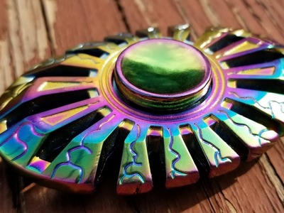 Magicfly Rainbow Fidget Spinner Unboxing, Review, and Giveaway.