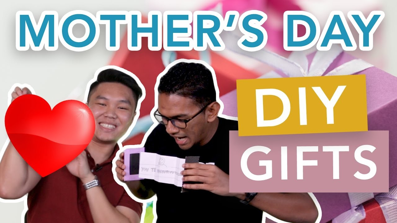 Malaysians Make Last Minute DIY Mother's Day Gifts