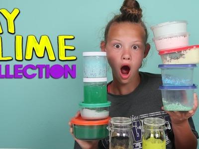 MY SLIME COLLECTION | DIY SLIME, SLIME RECIPES, & SLIME I'VE BOUGHT