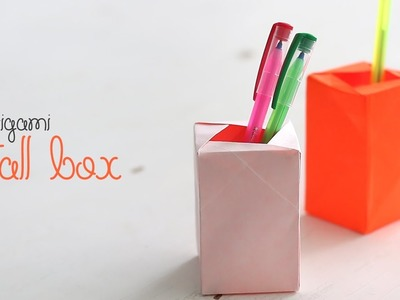 Origami Tall Box
