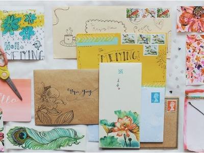 Pen pal letter ideas    DIY