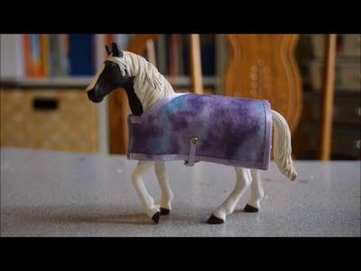 Schleich DIY - How to Make a Schleich Horse Blanket