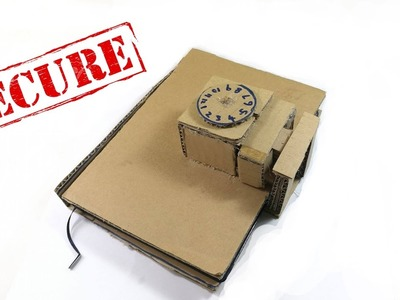 Secret notebook with lock (Password Required) DIY for yourself one